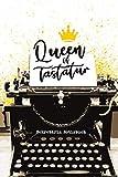 Queen of Tastatur Sekretärin Notizbuch: Sekretärinnen Schreibkraft Büro Notizbuch DIN A5 Punktraster | Schreibbuch | Tagebuch | Notizheft | A5 | 120 S | Tastatur Büro