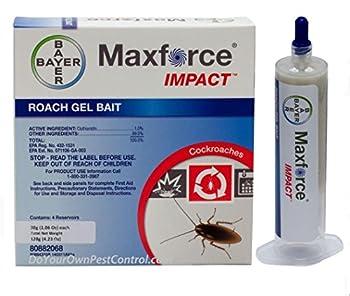 Maxforce Impact Roach Bait Gel 30g Reservoir  Four per Box