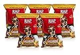 Rap Snacks, Habanero Hot Cheese Popcorn, Cardi B, 2.75 oz, Pack of 5