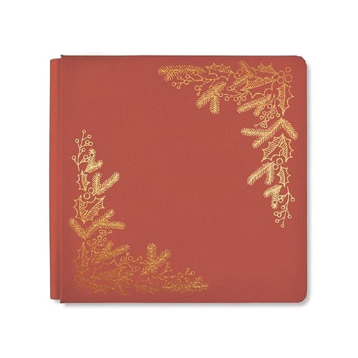 12x12 Antique Red Season's Greetings Album Cover