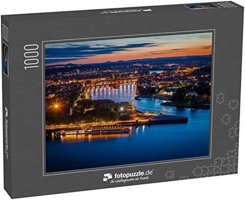 Puzzle 1000 Teile Panorama von Koblenz....
