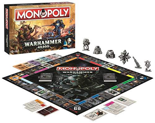 Monopoly Warhammer 40k - Bordspel - Speciale Monopoly Warhammer editie! - Voor volwassenen - Taal: Engels