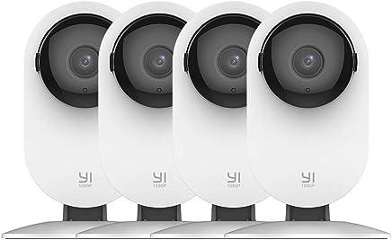 YI 4pc Home Camera, 1080p Wi-Fi IP Security Surveillance...