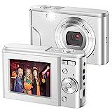 IEBRT Digital Camera,1080P Mini Kid Vlogging Camera Video Camera LCD Screen 16X...