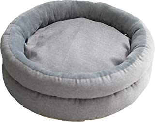 GBY Dog Bed Dog Sofa, Double-Layer Circular Open Egg tarts pet nest cat nest Dog nest, All Season General Cool mat pet Cool mat cat nest Dog nest, Suitable for Small and Medium-Sized Dogs and Cats