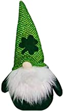 Pluche pop, St Patrick's Day decoratieve ornamenten Clover gezichtsloos speelgoed handgemaakte Zweedse pluche pop vakantie...