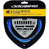 Jagwire Sport Shift XL Kit Guaine e cavi per deragliatore Adulto, Unisex, Blu, Taglia Unica