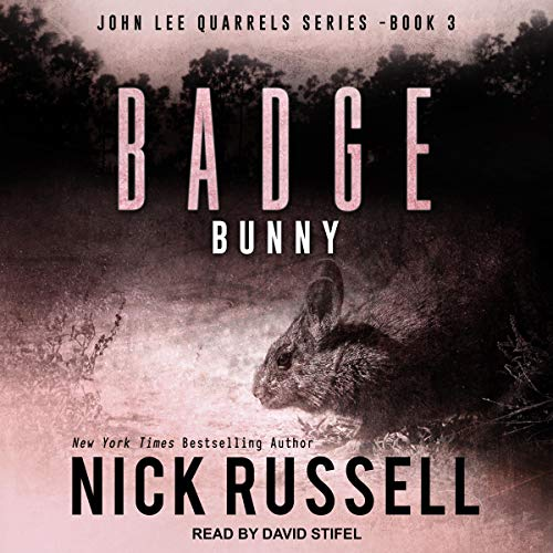 Badge Bunny audiobook cover art