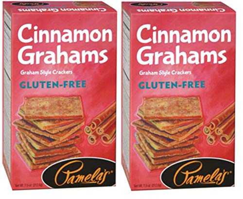 Pamela's Products Gluten-Free Graham Crackers Cinnamon -- 7.5 oz - 2 pc