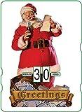 Calendario perpetuo vintage CocaCola 'Greetings'