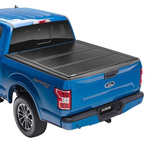 "Gator EFX Hard Tri-Fold Truck Bed Tonneau Cover | GC24019 | fits 2015-2020 Ford F-150 5' 5"" Bed 
