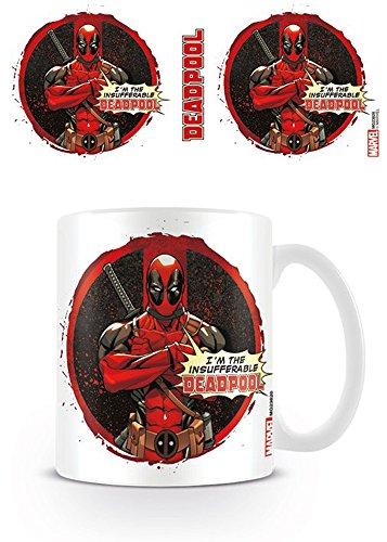 empireposter Deadpool - Insufferable- Keramik Tasse - Größe Ø8,5 H9,5cm