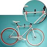 Bicicleta de montaña herramienta gancho de la pantalla ajustable bicicleta pared percha rack
