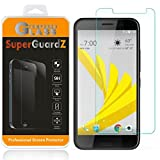 [2-Pack] for HTC Bolt/HTC 10 Evo - SuperGuardZ Tempered Glass Screen Protector [Lifetime Replacement], 9H, 0.3mm, 2.5D Round Edge, Anti-Scratch, Anti-Bubble