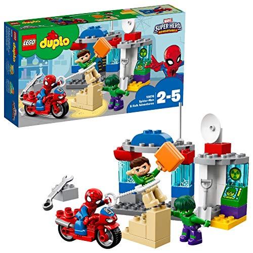 LEGO DUPLO Super Heroes 10876 Die Abenteuer von Spider-Man und Hulk