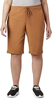Columbia Women's Anytime Outdoor Long Short, Water & Stain Repellent