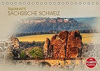 Traumhafte Saechsische Schweiz (Tischkalender 2022 DIN A5 quer): Einmalig schoene Bilder aus der Saechsischen Schweiz (Geburtstagskalender, 14 Seiten )