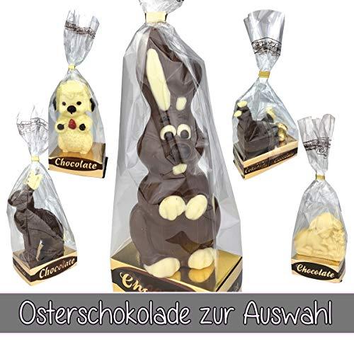 Osterhase/Schokolade/Oster-Schokolade/verschiedene Figuren zur Auswahl/Ostern /, Schokoladenfiguren:Schokohase - weiße Schokolade, Anzahl:1er Einzel
