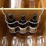 Estante Para Botellas De Vino Para Refrigerador, Estante Deslizante Debajo Del Organizador Del Armario, Contenedores Organizadores Del Congelador Del Refrigerador, Para El Dormitorio De La Cocina