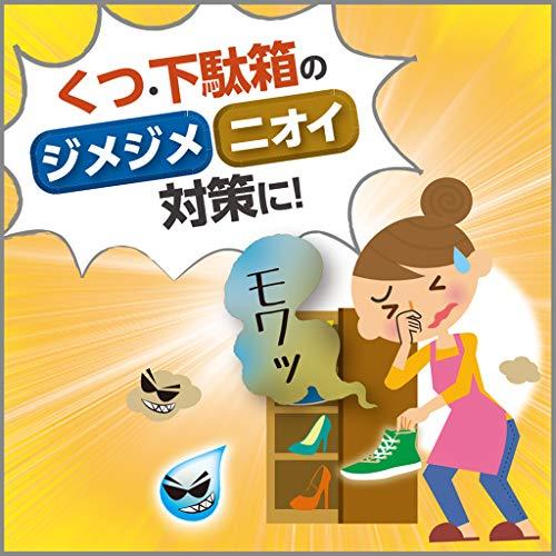 【まとめ買い】備長炭ドライペット除湿剤玄関下駄箱用95g×2個