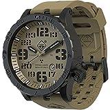 HAZARD 4 Heavy Water Diver(TM) Arid: Titanium Tritium Dive-Watch - GGYG