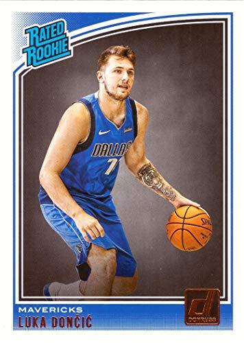 2018-19 Panini Donruss Basketball #177 Luka Doncic Rookie Card Dallas Mavericks - Rated Rookie