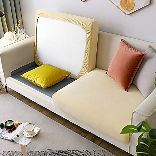 Felpa No-resbalón Couch Slipcover,Elasticidad Universal Cubiertas Seccionales del Sofá,Todo-Incluido Cubierta del Sofá Protector para Los Niños Perros Mascotas-B Plus l