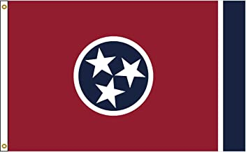 Tennessee 4ftx6ft Nylon State Flag 4x6 Made in USA 4'x6'