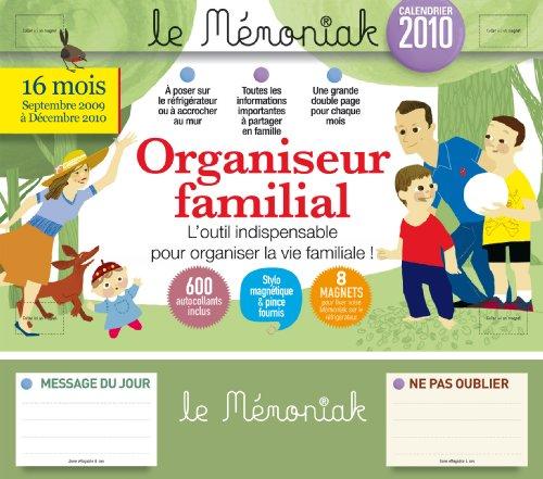 Organiseur familial : Calendrier 2010