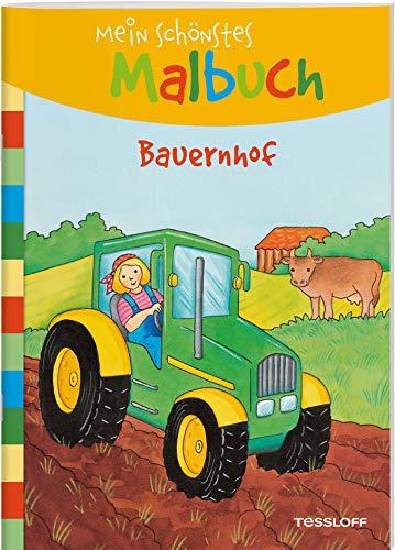 Mein schönstes Malbuch. Bauernhof: Malen für Kinder ab 5 Jahren (Malbücher und -blöcke)