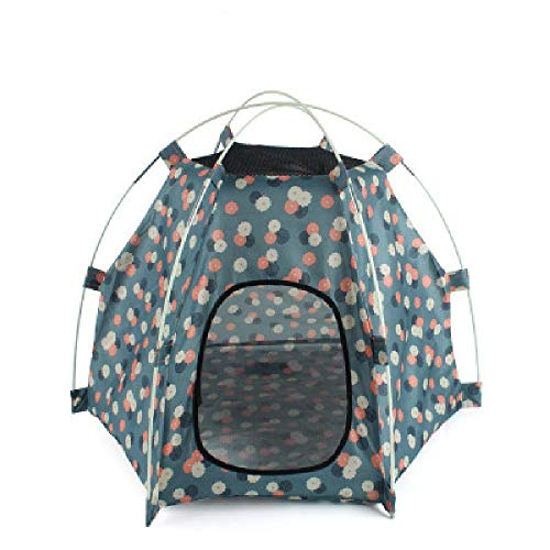 U/A Waterproof Pet Dog Fence Tent Outdoor Portable Detachable Pet Cat Folding Kennel Tent House Dogs Cage For Camping Traving
