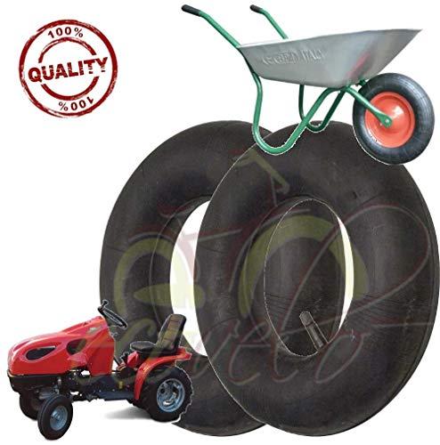 Camera daria per pneumatici per trattorini 15 x 6.00-6 con valvola dritta Copertone Camera daria
