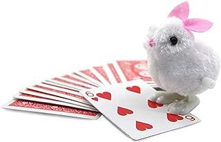 Enjoyer ラビット カードを探している予測 イリュージョン マジック ギミックカード マジシャン アクセサリー コメディ小道具