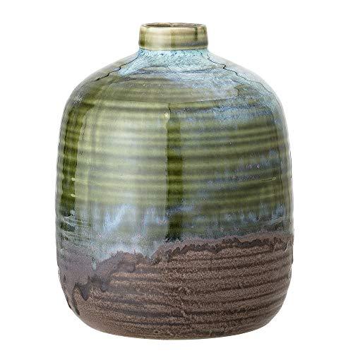 Bloomingville Vase, grün, Keramik