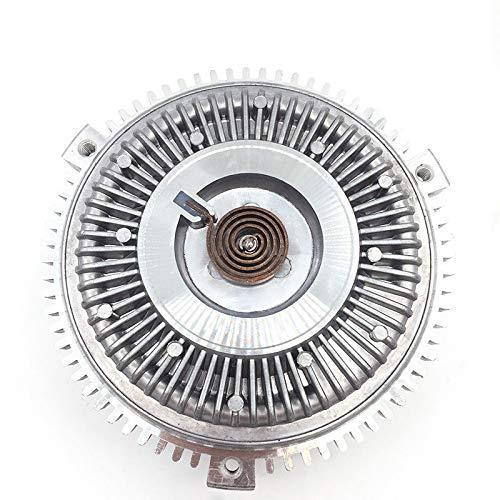 IUEFINUEN Motorkühlung Lüfterkupplung (Color : Silver)