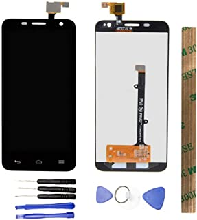 JayTong LCD Display & Replacement Touch Screen Digitizer Assembly with Free Tools for Alcatel One Touch Idol Mini 6012 OT6012 6012D Black