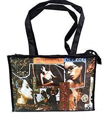 Emporium Leather Femmes Filles rétro funky Style ancien Tableau Sac à main fourre-tout Hobo Shopper