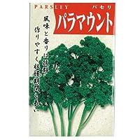 パセリ 種 【 パラマウント 】 種子 小袋(約3ml)