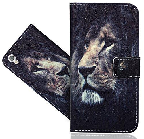 FoneExpert® Sony Xperia L1 Handy Tasche, Wallet Hülle Flip Cover Hüllen Etui Hülle Ledertasche Lederhülle Schutzhülle Für Sony Xperia L1