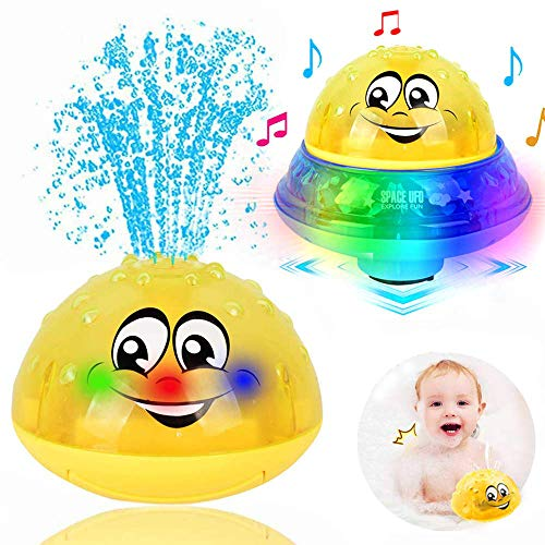 ZHENDUO Bath Toys, 2 in 1 Induct...