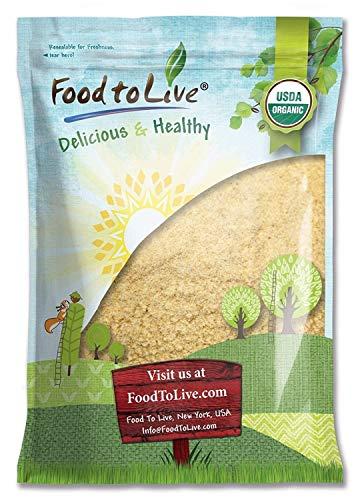 Organic KAMUT Khorasan Wheat Flour, 10 Pounds - Stone Ground Powder, 100% Whole Grain Meal, Non-GMO, Kosher, Bulk