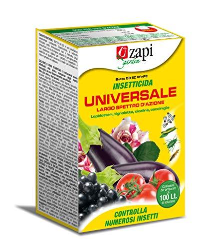 ZAPI Insetticida Universale Ad Ampio Spettro Botto 50 EC - Lepidotteri, Cocciniglie, Cicalina, Tignoletta.