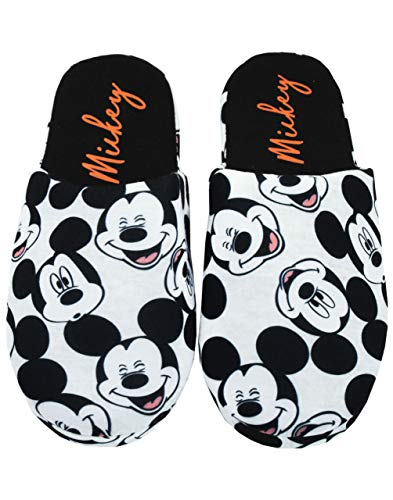 Disney | Mickey Mouse Alles über Print Damen Uberstreifen Hausschuhe (5 UK)