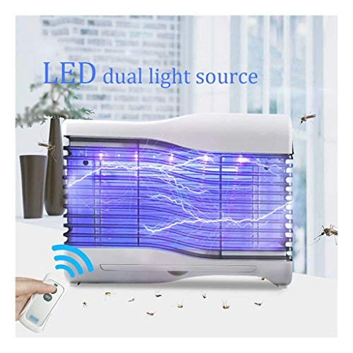 Baibao – Mosquito lámpara electrónica Bug Manta Zapper de la mosquitera de la lámpara de la familia Muto Mosquito Trapping Insectifugo mujer Encinto Niño Ommercial Fly Catcher LED a distancia