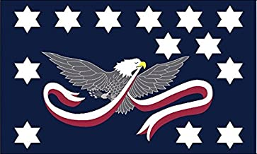 Whiskey Rebellion Flag from SoCal Flags 3x5 Foot Polyester Tax Protest Banner - Sold by An American Company Weather Resistant Durable - 100d Material Not See Thru Like Other Brands