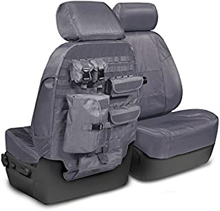 Coverking CTSC1E4RM1083T Front 40/20/40 Bench Custom Fit Seat Cover for Select Ram 2500/3500 Models - Cordura/Ballistic (Charcoal)