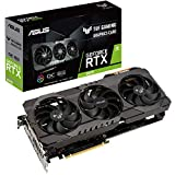ASUS TUF NVIDIA GeForce RTX 3070 OC Edition Carte Graphique Gaming (PCIe 4.0, 8GB GDDR6, HDMI 2.1 ,...