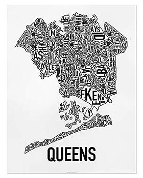 queens neighborhood map
