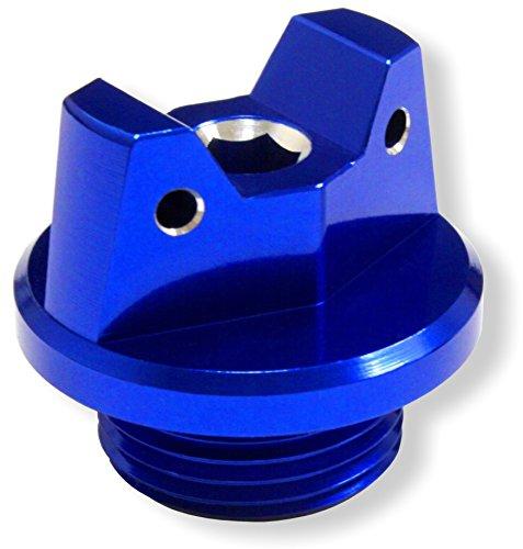 MotoSculpt Blue Oil Fill Cap Plug for Suzuki GSX-R GSXR 600 750 1000 1100 1300 SV650 SV1000 TL1000