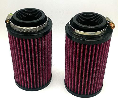 26mm Air Pod Filters for K&N Yamaha Banshee YFZ 350(Pack of 2)